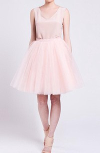 Champagne Tulle Skirt Handmade Tutu Skirt High Quality Skirt Petticoat Adult Tulle Skirt Adult Tutu Dress