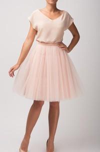 Blouse V Neck Dress