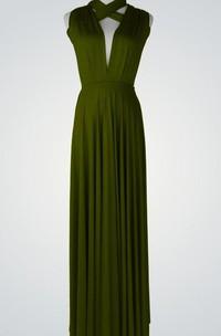Floor-length Backless Dress