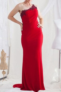 Backless Lace Dress With Embroideries