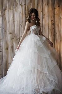 Wedding 2 In 1 Ball Gown Short Wedding Dress