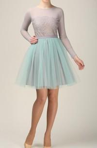 Short Grey And Mint Tulle Skirt Light Tulle Skirt Handmade Tutu Skirt Adult Tulle Skirt Adult Tutu Skirt Tulle Petticoat Dress