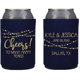 Wedding Reception Beverage Can Coolers