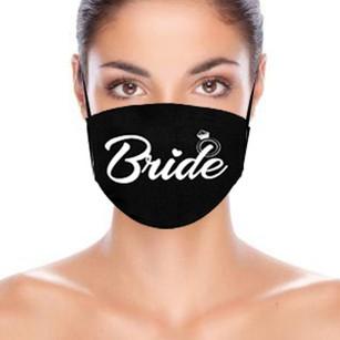 Non-Medical Cotton Wedding Face Masks