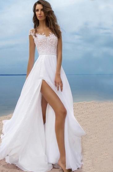 Beach Destination Bridal Dresses Casual Informal Wedding Gowns June Bridals
