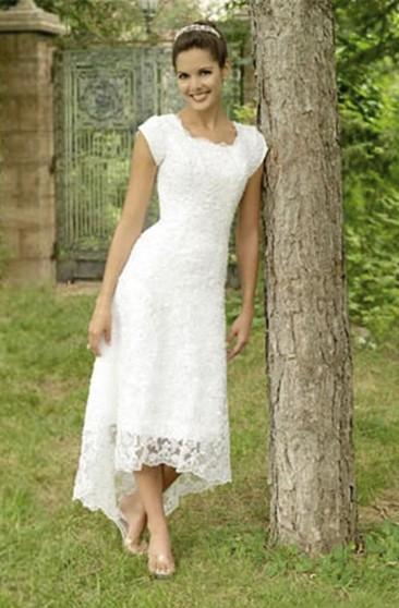 50 S Style Wedding Dresses Tea Length On Sale June Bridals
